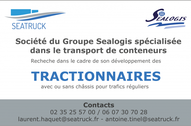 Seatruck- Tractionnaires