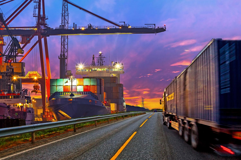 leader du transport routier de conteneurs maritimes