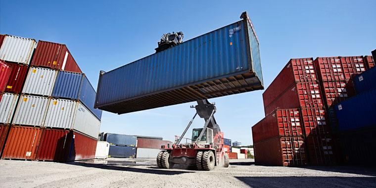 dépôts et parc de containers